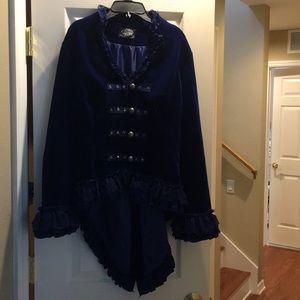 Hearts & Roses coat